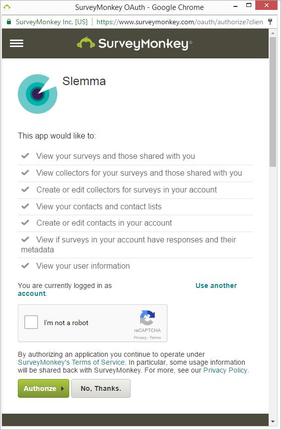 SurveyMonkey - Slemma